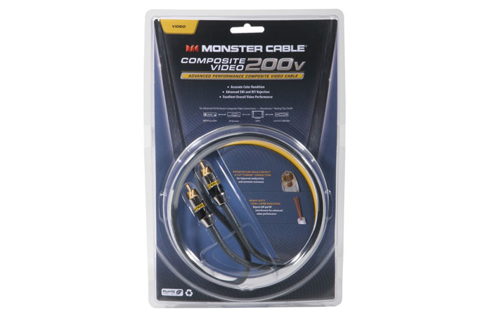 Monster MC 200R-2M Video Cable